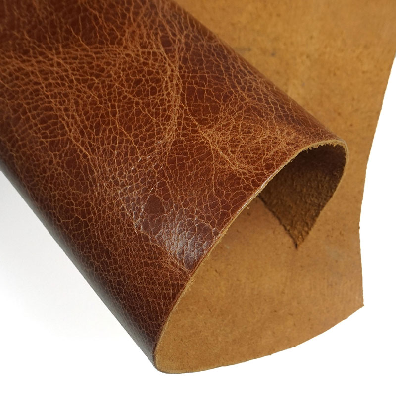 2.0mm Natural Soft Genuine Leather Fabric Sheet Real Cowhide First Layer Leather Piece Hides Cow Skin Leather Craft image