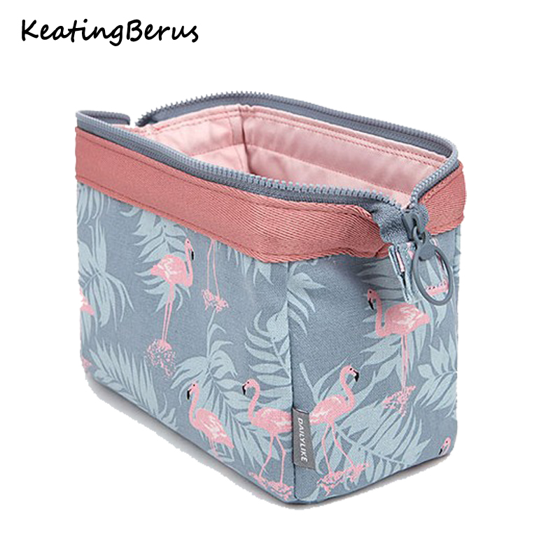 Travel Make Up Bags Animal Flamingo Cosmetic Bag Girl Function Makeup Case Beauty Wash Organizer Toiletry Storage Bag