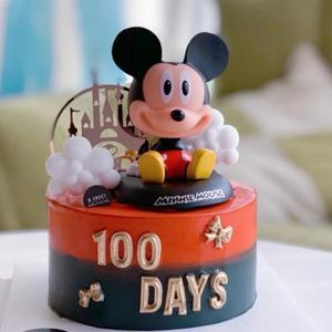 Urodziny minnie mickey ozdoba ozdoba na wierzch tortu zabawki dla dziecka dzieci chłopcy dzieci prezent dziewczyny dzieci mickey babeczka urodzinowa wykaszarki