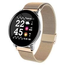 W8 Sport Smart Watch Bracelet Round Bluetooths Waterproof Male Smartwatch Men Wo