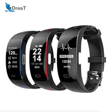 ECG Fitness Bracelet Smart Fitness Tracker with Pressure Measurement Blood Pressure Watch Sport Pedometer Smartband PK miband 3(China)