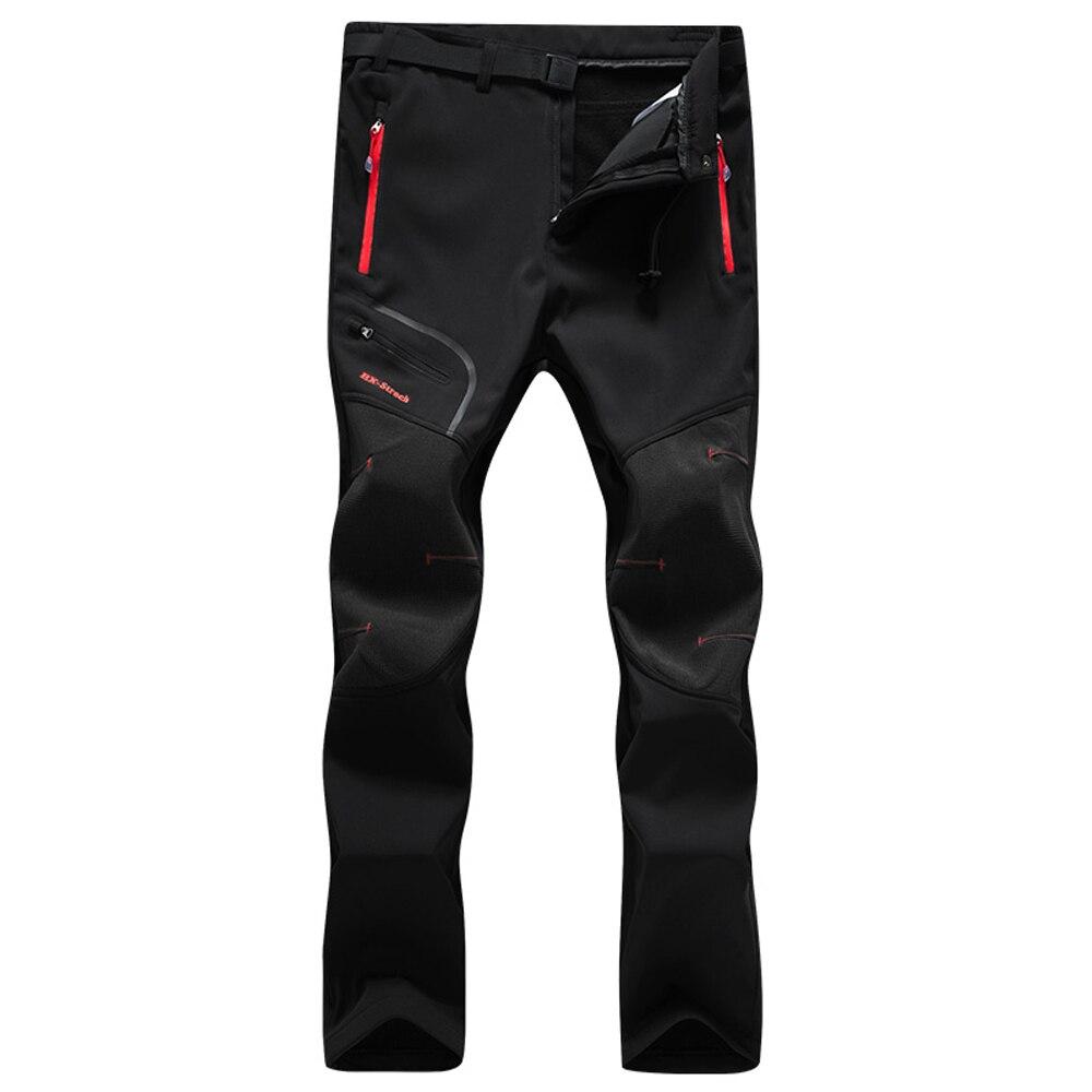 Мужские брюки, водонепроницаемые флисовые зимние брюки с поясом для отдыха на природе, пешего туризма, катания на лыжах, сноуборде, велоспорта|Походные штаны|   | АлиЭкспресс