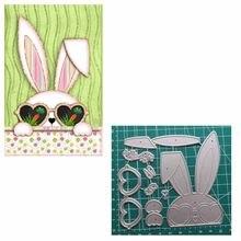Bunny 2020 yeni kesme Scrapbooking için ölür zanaat kartları kesme ölür için interaktif kartları