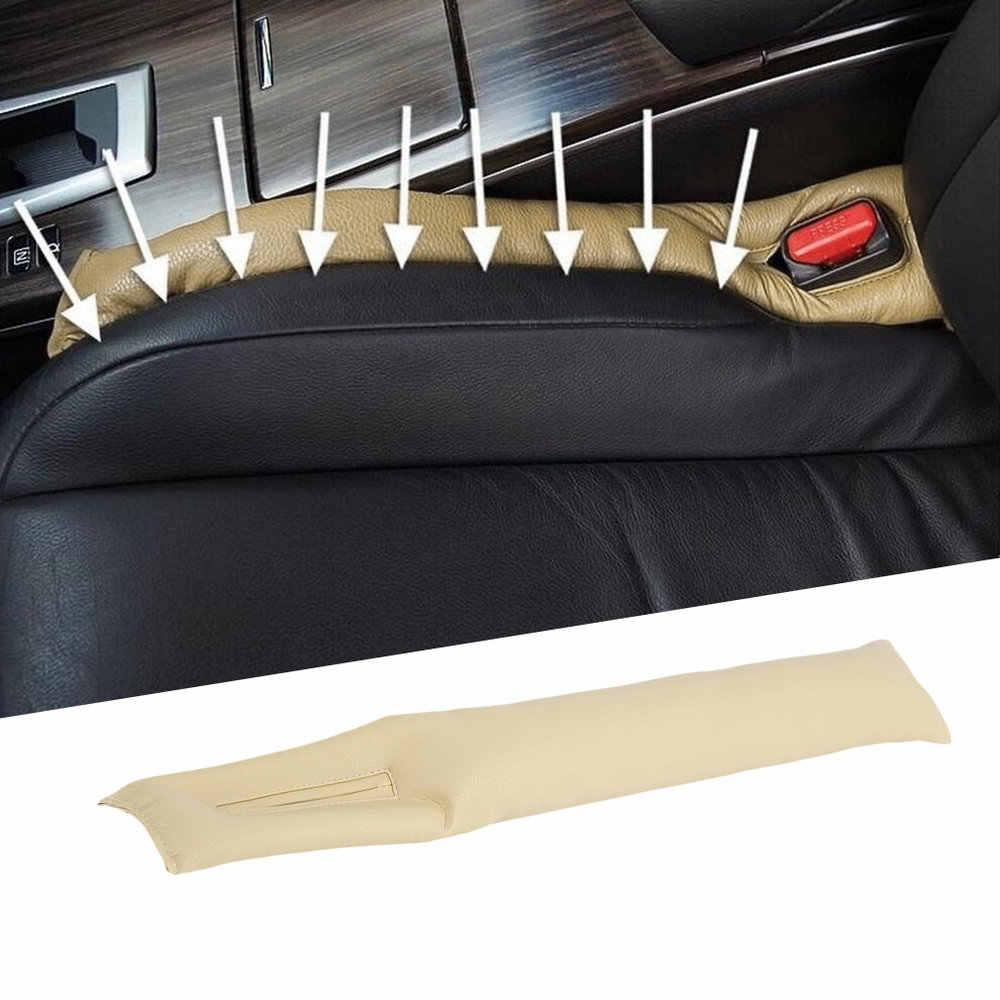 Cuoio DELL'UNITÀ di elaborazione di Auto Auto Sedile Fondina Filler Spacer Imbottitura Sticker Proteggere Caso di Veicoli Auto Cleaner Spina di Slot