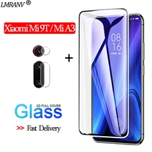 2-in-1 Camera Glass for Xiaomi Mi 9T 3D Protective A3 Screen Protector 9 T Tempered xiaomi mi 9t