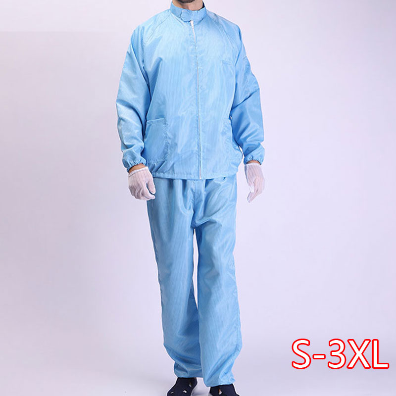 Anti-static Clothing, Dustproof Clothing, Stand-up Collar, Dust-free Clean Clothing, Work Protective Clothing, Men And Women