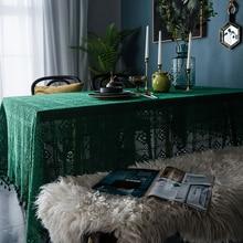 Ретро скатерть полые декоративные круглые скатерти минималистичные скатерти для обеденного стола покрытие для гостиничного Шоу Украшения
