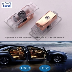 2x Led Car Door light Logo Car Laser Projector Ghost Light fit For Audi bmw toyota ford Cadillac Lexus Land Rover Seat Buick