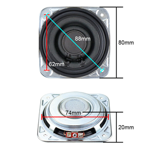 Image 2 - GHXAMP 3 inch 3OHM 20W For Woofer Full Range Midrange Speaker low frequency Paper Pots Neodymium Voice Coil Large Stroke