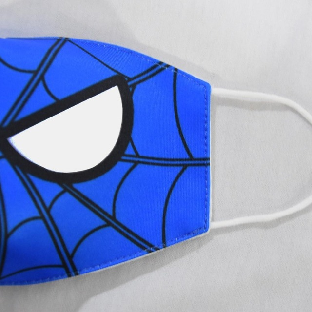 2020 New Cartoon Spiderman Mask Women Men Kids Cotton Breathable Auti-Dust Half Mouth Face Masks Supplies ZXT220 3