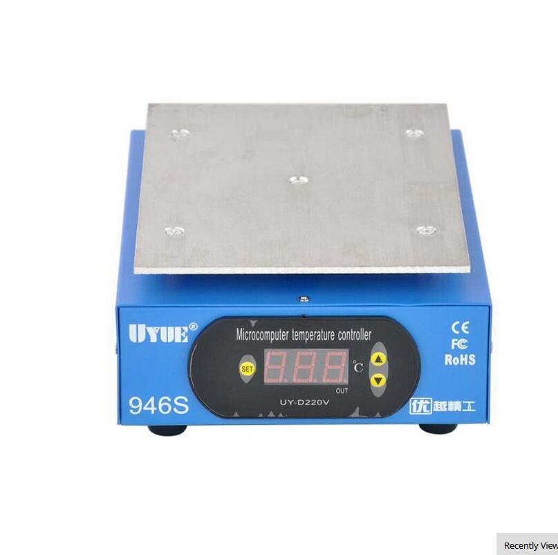 UYUE 946S Preheat Station 220V 400W 140X200mm Preheater Digital Platform Heating Plate For Phone LCD Screen Separator Machine
