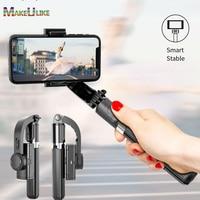 Palo de Selfie Universal para iPhone, Samsung, Huawei y Xiaomi, cardán estabilizador de trípode con Control remoto inalámbrico por Bluetooth