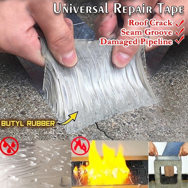 Permanent WaterSeal Aluminium Rubber Tape