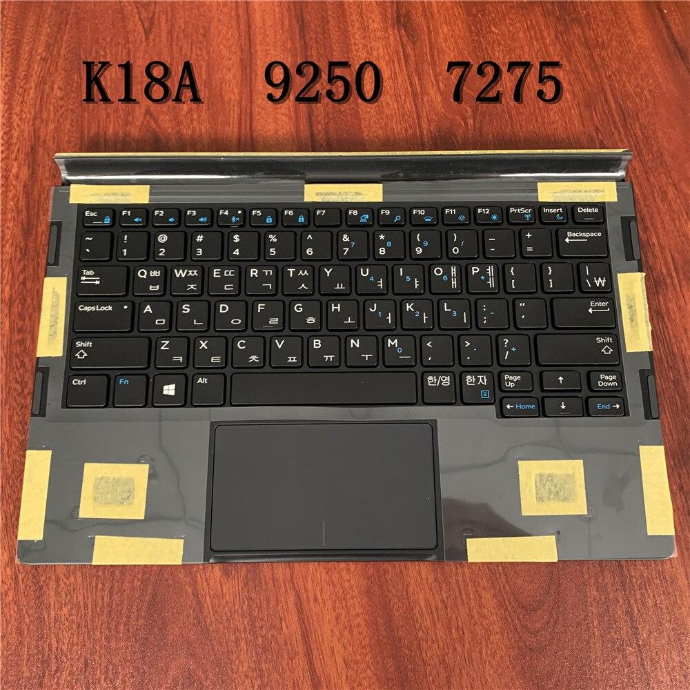 Совершенно новая Оригинальная клавиатура для планшетного ПК DELL latitude 12 7275 9250 Модель: K18A версия: корейский стиль