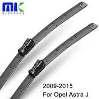 """Limpiaparabrisas de Mikkuppa para Opel Astra J 2009-2015 par 27 """"+ 25"""" R parabrisas limpiaparabrisas Auto accesorios de coche"""