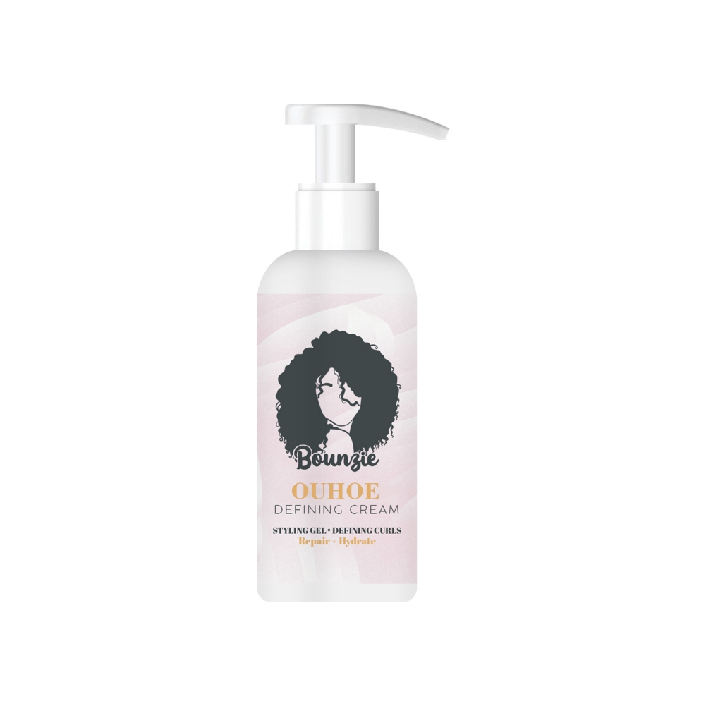 Bounzie Curl Boost Defining Cream Elastin Curly Hair Moisturizing Styling Repair Curling Essence Hair Care Elastin