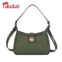 Totes for Women Solid Bag Bolsas Luxury Designer Handbags Ladies Leather Handbags Messenger Purse Retro Hobos Crossbody Bags