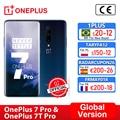 Глобальная версия OnePlus 7 Pro Snapdragon 855 OnePlus 7T Pro Snapdragon 855 плюс, смартфон, четыре ядра, 6,67 ''amoled 48MP тройной, ; код:P3XCNVAQ(₽2000-200)