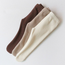 2021 Spring Newborn Baby Pantyhose All-match Thicken Baby Girls Tights Kids Children Stockings Solid Color Infant Boys Pantyhose