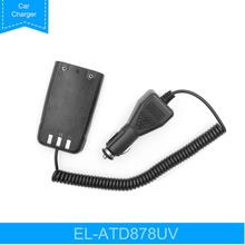 Éliminateur de batterie de chargeur de voiture de 12V AT D878UV pour la radio bidirectionnelle de AT D878UV danytone AT D878UVPLUS