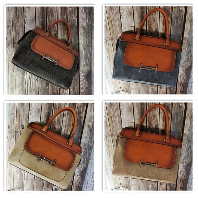 Classic Women's Leather Luxury Bag  5