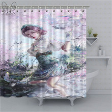 Identity V Print Waterproof Shower Curtain Polyester Fabric Bath Curtain Home Bathroom Curtains with 12 Hooks Shower Curtains(China)