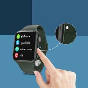 Умные часы Apple Watch Series с Bluetooth, пульсометром, водонепроницаемые умные часы IP67 для мужчин и женщин для Redmi
