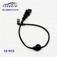 10pcs/lot 4M0615121P Brake Pad Wear Sensor Rear Disc For AUDI A8 Q7 4H 4M 4MB S8  brake lines OEM No 4M0 615 121P