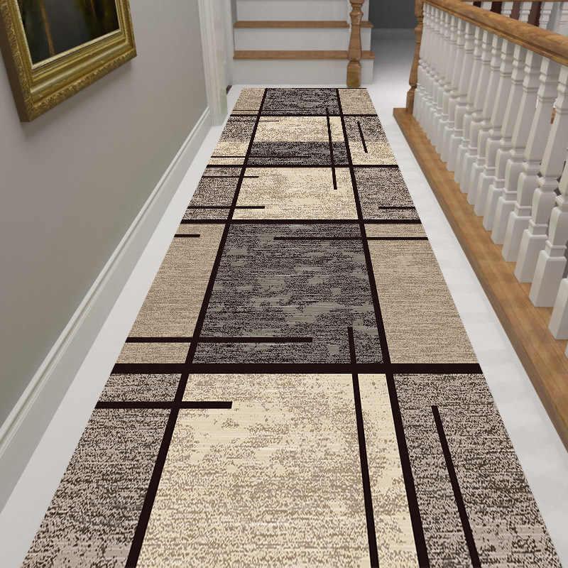 long escalier tapis nordique maison chambre couloir tapis couloir tapis geometrique allee tapis de sol chevet fenetre tapis long tapis
