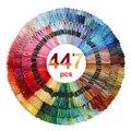 447 штук DMCDMC нитки для вышивки крестом все разные Цвет нить для вышивки, мотки ремесло Dofferent градиент Цвет нить 8 м