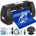 VEVOR виниловый 14 дюймов печатной машины 350 мм Бумага корма виниловый плоттер Signmaster программного обеспечения знак делая машину