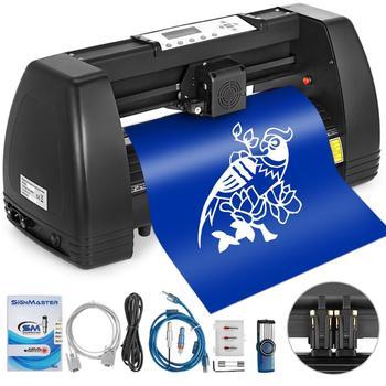 VEVOR Vinyl Cutter 14 Inch Plotter Machine 350mm Paper Feed Vinyl Cutter Plotter Signmaster Software Sign Making Machine
