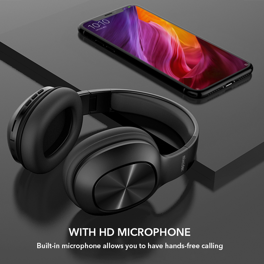 Image 5 - Mixcder HD901 Bluetooth Headphones Wireless Headset Earbuds with 