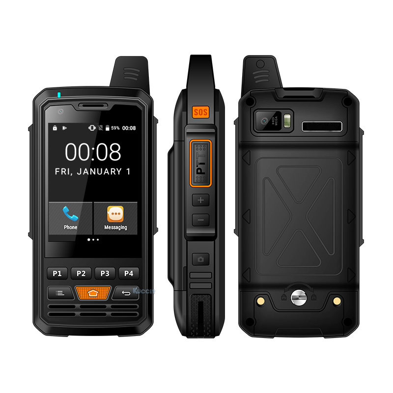 Оригинальный P50 Zello телефон 4G LTE Android рация сеть прочное переговорное устройство смартфон PTT радио Улучшенная антенна F22 F25|Смартфоны и мобильные телефоны|   - AliExpress