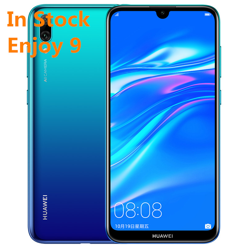 "Nouveau Huawei Original profiter 9 Y7 Pro 2019 Smartphone 6.26 ""Snapdragon 450 Octa Core Android 8.1 EMUI 8.2 4000mAh Face ID"