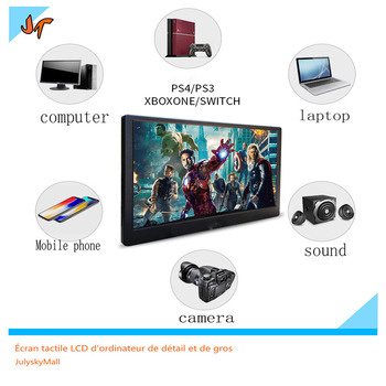 13.3 inch Portable HDMI Display 1920x1080 HD IPS Computer Display LED Monitor for PS4 Pro / Xbox / Mobile Notebook Display