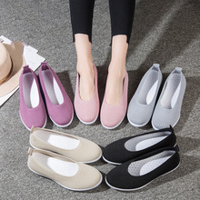 Womens Casual Shoes Shallow Mouth Soft Bottom Fashion Female Comfortable Flat Women Sneakers