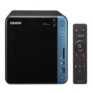 QNAP TS-453B 4G память 4-bay бесдисковый nas, nas сервер nfs Сетевое хранилище Облачное хранилище, 2 года гарантии