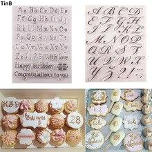 Инструмент для торта, буквенный алфавит, формочка для печенья, тиснение, штамп, липкое украшение, морской конь, Рождественский резак для помадки, инструменты для выпечки