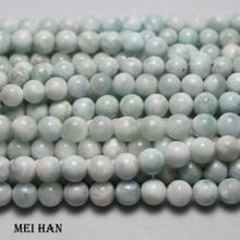 Hurtownie 8 8.5mm (1strand/set) naturalne tanie dominika larimar na projektowanie biżuterii diy bransoletka