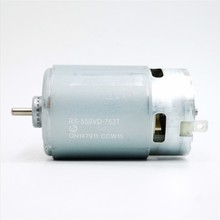 Dla Mabuchi RS 550VC silnik o wysokim momencie obrotowym RS 550VC 7527 ogólne RS 550VC 8518