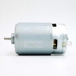 Image 1 - Dla Mabuchi RS 550VC silnik o wysokim momencie obrotowym RS 550VC 7527 ogólne RS 550VC 8518