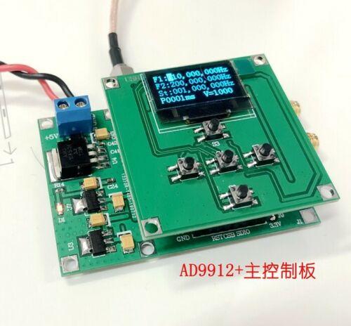 2019 AD9912 1GSPS 1HZ-400MHZ Sine Wave Output DDS Signal Source Sweep