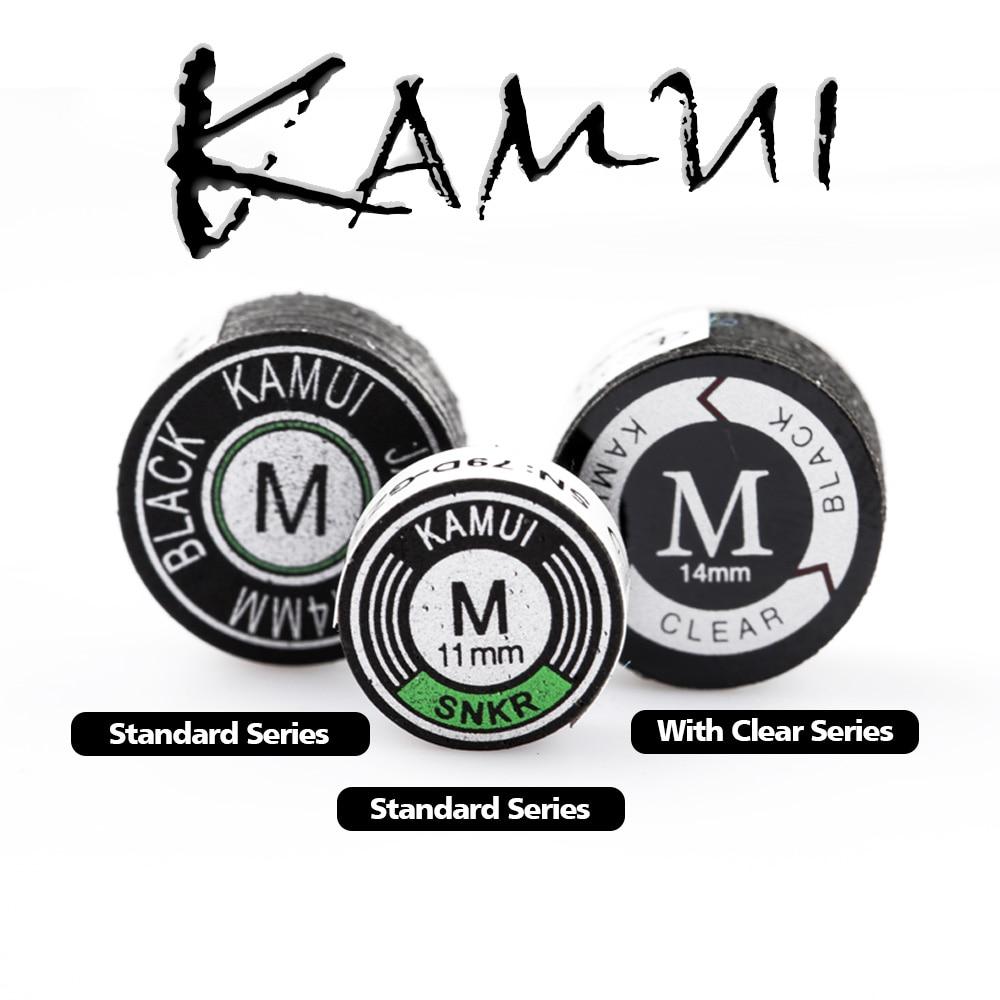 New Original KAMUI Pool Cue Tip Snooker Cue Tip Billiard Cue Tip Snooker Professional Tip Billiard Accessories Made In Japan