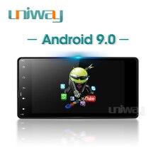 Uniway PX30 DSP 2G + 32G Android 9.0 เครื่องเล่นดีวีดีรถยนต์สำหรับ Mitsubishi Outlander Lancer 2010 2012 2013 2014 2015 วิทยุนำทาง GPS
