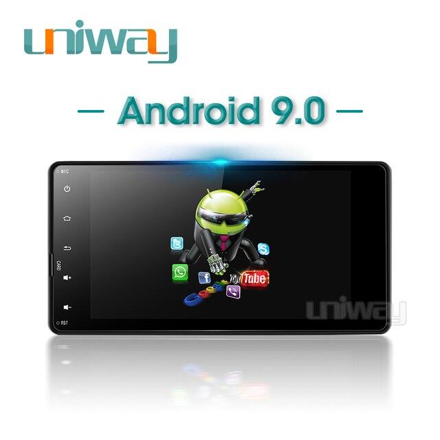 Uniway autoradio PX30, DSP, android 9.0, 2 go/32 go, lecteur dvd, navigation gps, pour voiture Mitsubishi outlander lancer (2010, 2012, 2013, 2014, 2015)