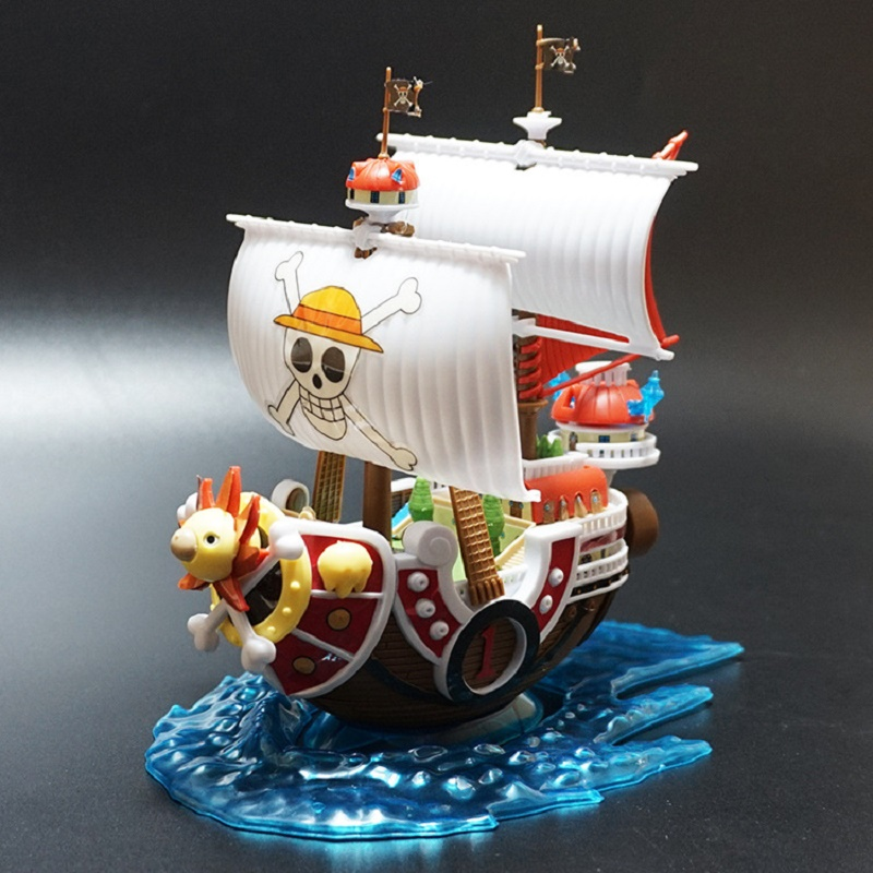 NEW Hot  One Piece Thousand Sunny Luffy Pirate Ship Model Boat  Action Figure Collectible  Action Figure Collectible Model Toy