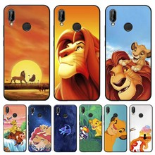 цена на The Lion King Cover for xiaomi redmi note 7 k20 pro 7  note 5 6 4x 7a Clear Soft Silicone Phone Case