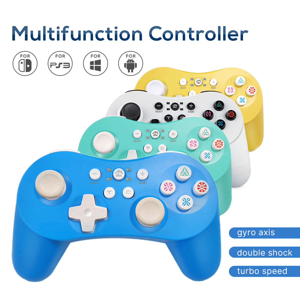 Bluetooth Gamepad Joystick for PS3 for Switch Command PS3 Wireless Gamepad Joypad for PC Controller for PS3 Pad for PC Android(China)