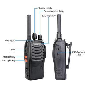 Image 2 - Retevis H777 Plus PMR 446 Walkie Talkies 2 pcs Handy Two Way Radio Professional Walkie talkie Radio Staion FRS Radio For Hunting